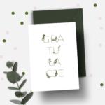 Kartka okolicznościowa A6- Gratulacje