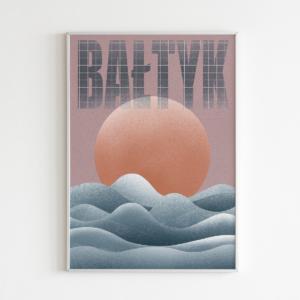Plakat Bałtyk   formaty