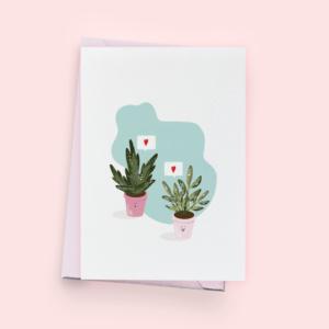 Kartka okolicznościowa- Plantlover