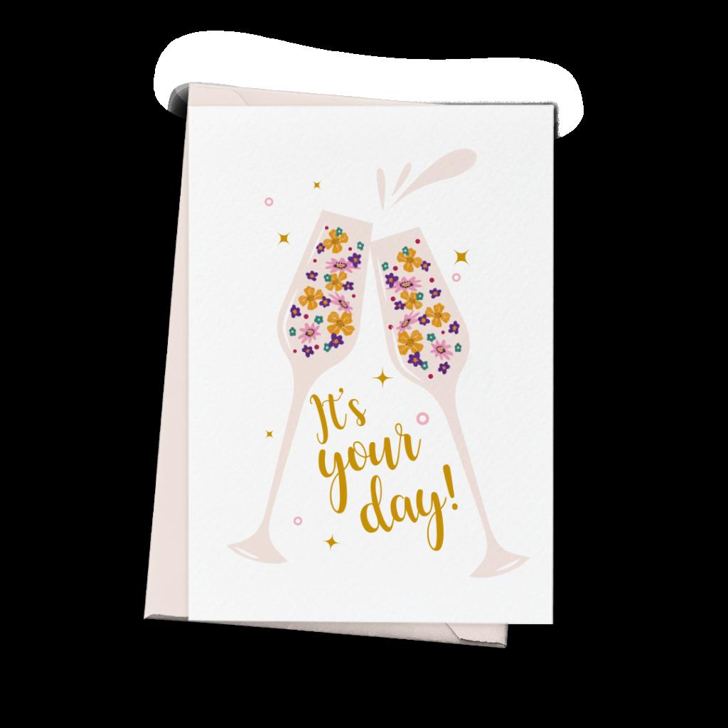 kartka urodzinowa it's your day